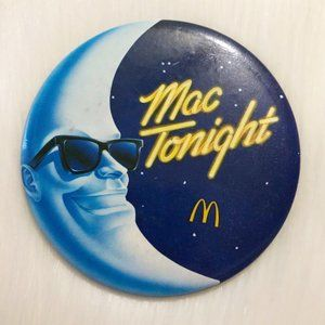 🔮5/$25 Vintage McDonald's Mac Tonight Pin